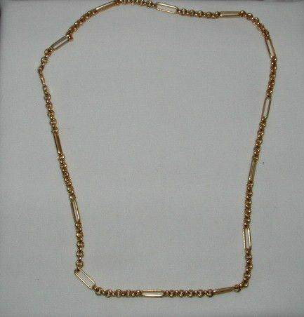 14k Gold Necklace Unoaerre 585 Italy Solid Gold Chain 17 5 Grams 24 3 8 Long Ebay Ebay Jewelry Gold Necklace Gold
