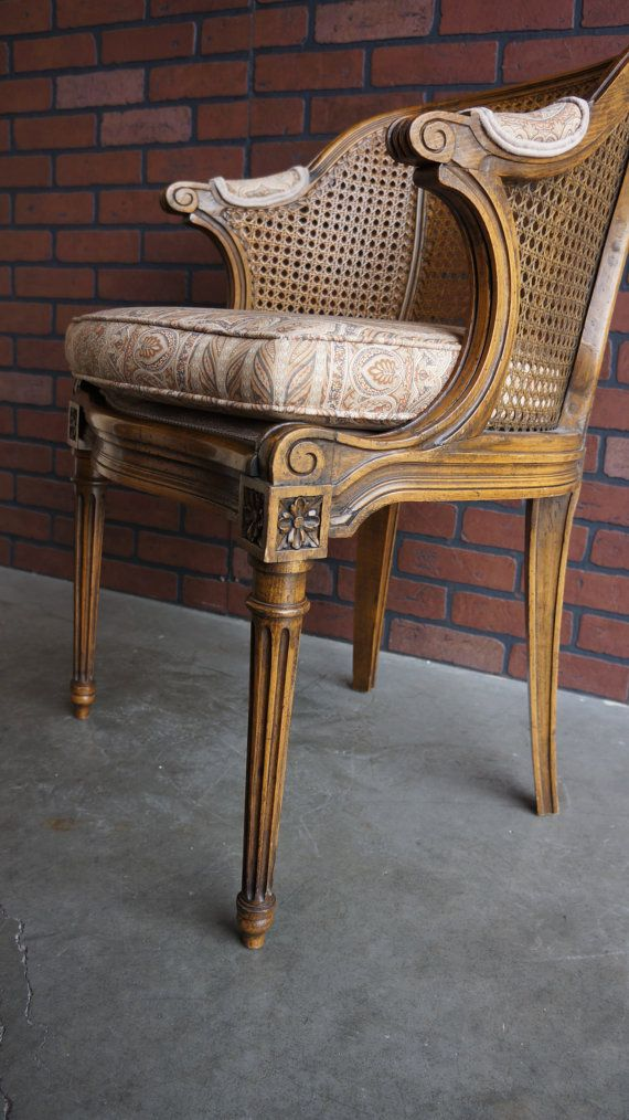 Cane Back Accent Chair French Chair By