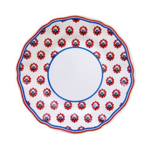 Le Cadeaux Fleur de Provence Red Melamine Dinnerware, Salad Plate by Le Cadeaux, http://www.amazon.com/dp/B007MPBZA0/ref=cm_sw_r_pi_dp_ywHQrb14WPC2Z
