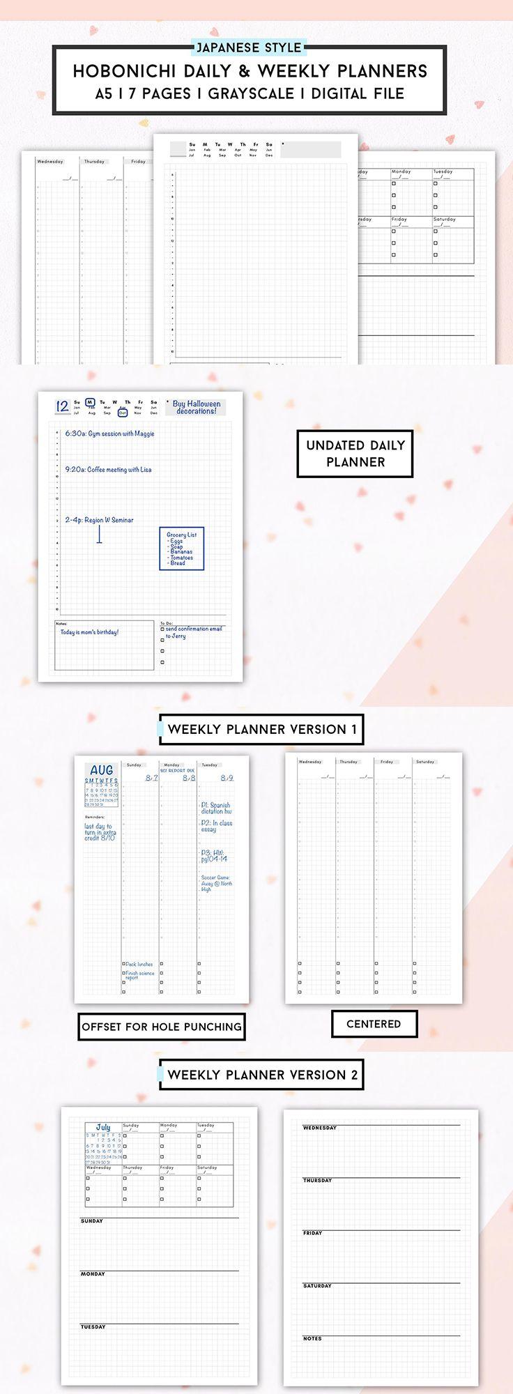 daily planner worksheet