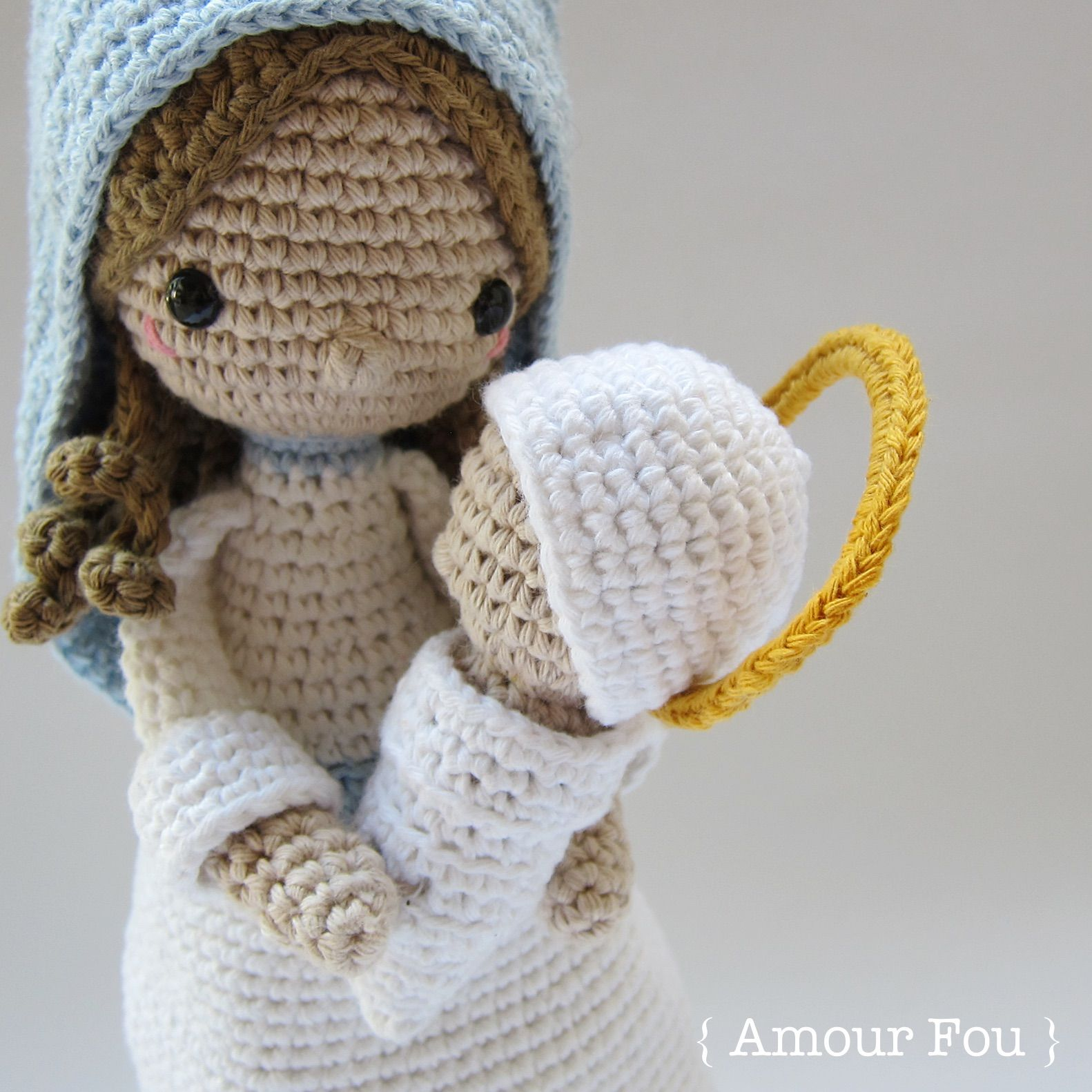 Bonito Amigurumi Patrón Natividad Crochet Bandera - Ideas de ...