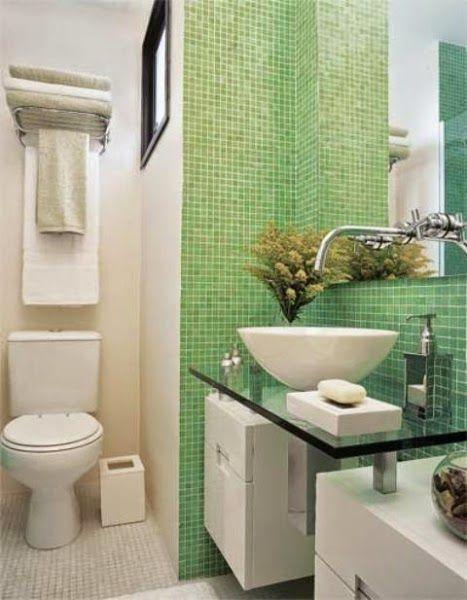 Banheiros simples e economicos