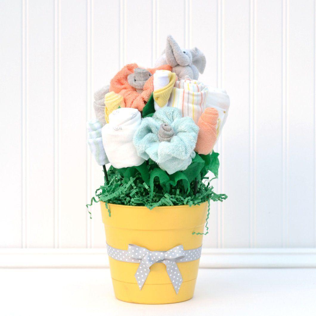 Cactus Blossom Arrangement Original Neutral baby gifts