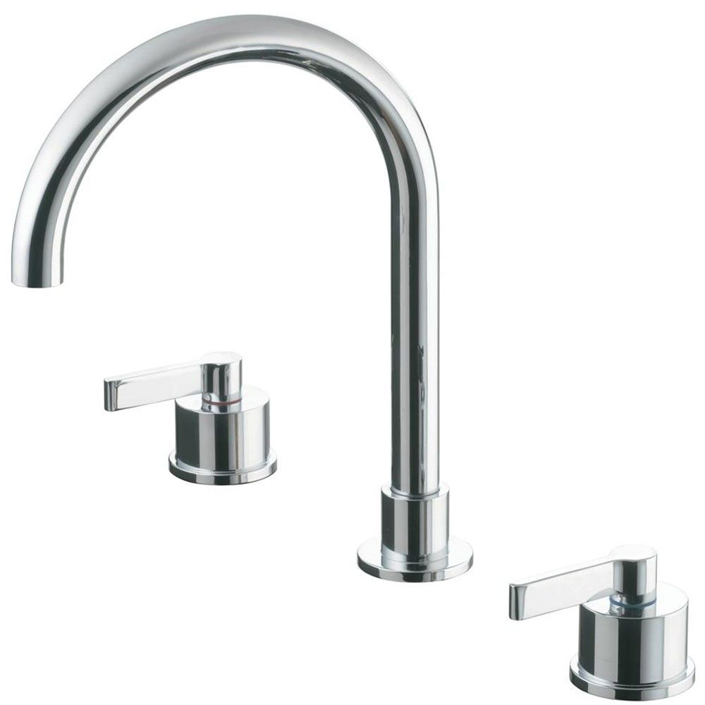 Ideal Standard Silver Basin Mixer Tap No Waste 3 Tap Hole Chrome Bathroom Taps Basin Mixer Basin