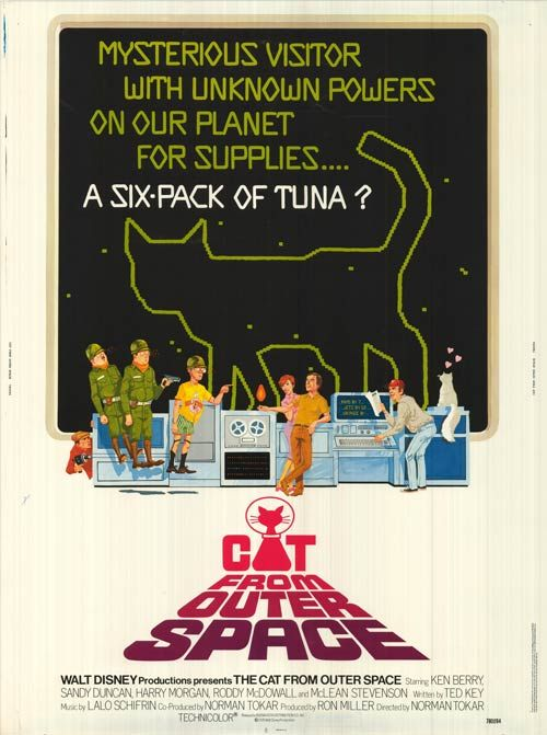 Cat from Outer Space, The 1978