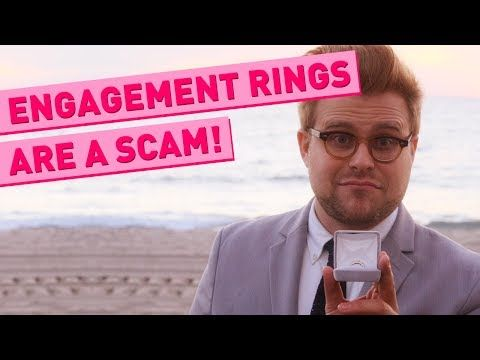 Why Engagement Rings Are a Total Scam Engagement College humor