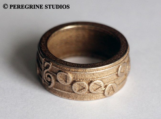 Amazing Zelda Ocarina Song Rings on Etsy Knights of Hyrule