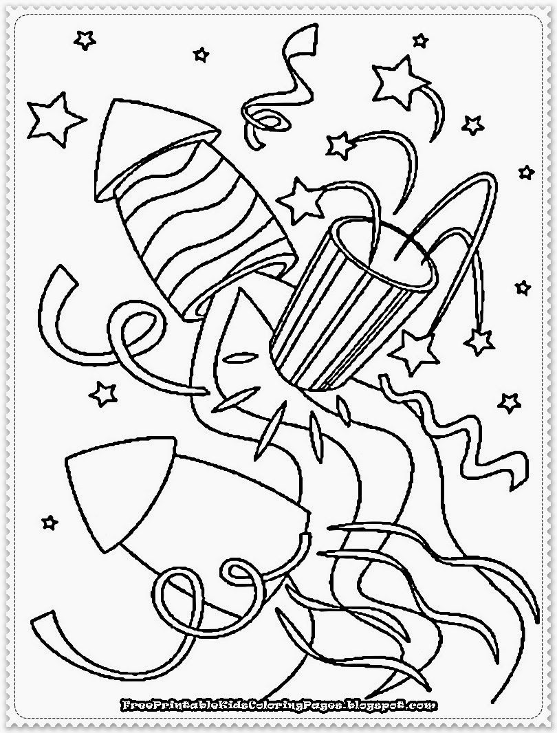 new years eve coloring page new years eve coloring pages