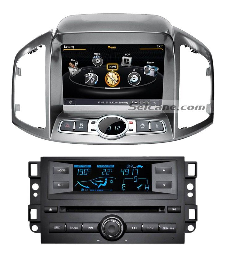 8 Inch 2011 2012 Chevy Chevrolet Captiva Touch Screen Dvd
