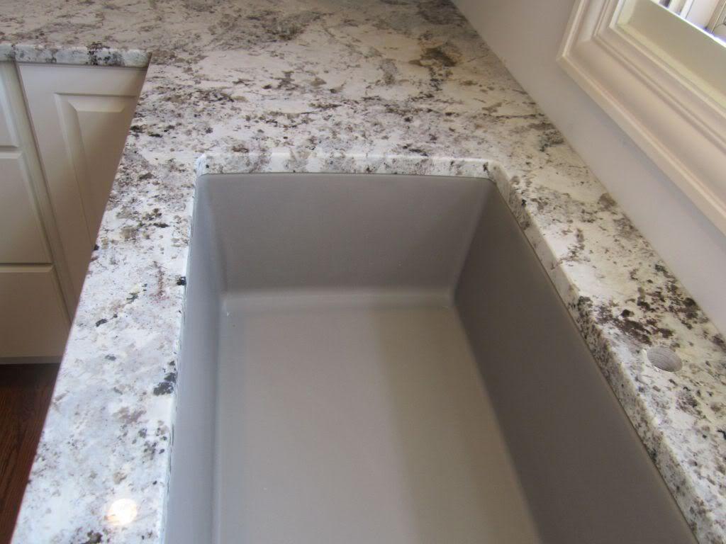 What Colour Countertops On White Kitchen Cabinets Pip: Silgranite Designs White Cabinets