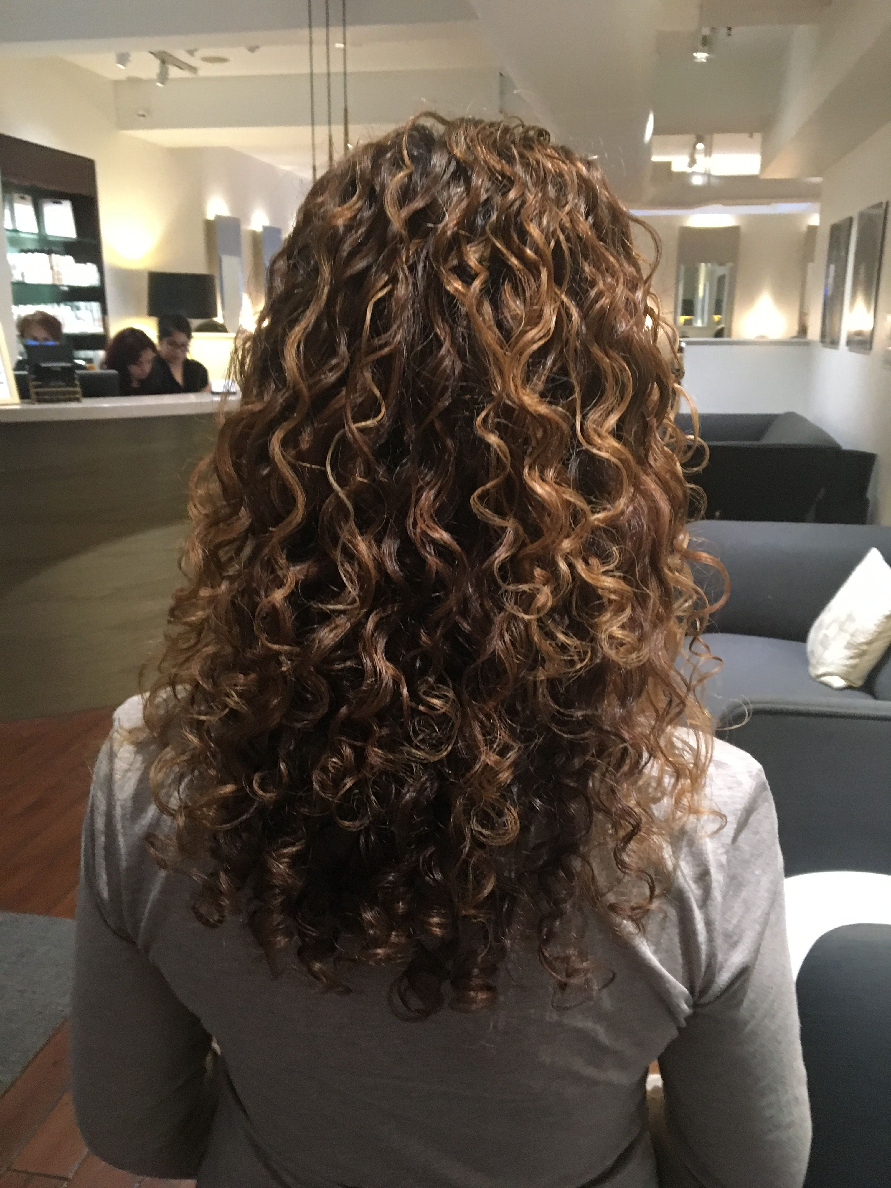 Highlighted Curly Hair Great Hair Pinterest Curly