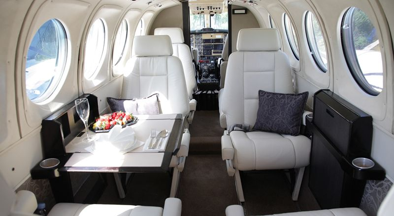 Beechcraft Kingair 200 Interior Lea Mobile Aviation Private