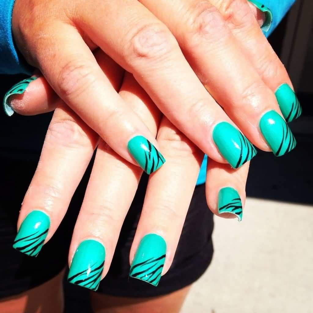 THE Best Zebra Print Nail Art Ideas | Nails | Pinterest