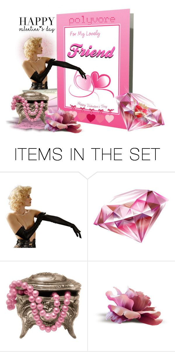"""""""Happy Valentines Day for a PolyFriend"""" by ragnh-mjos ❤ liked on Polyvore featuring art"""