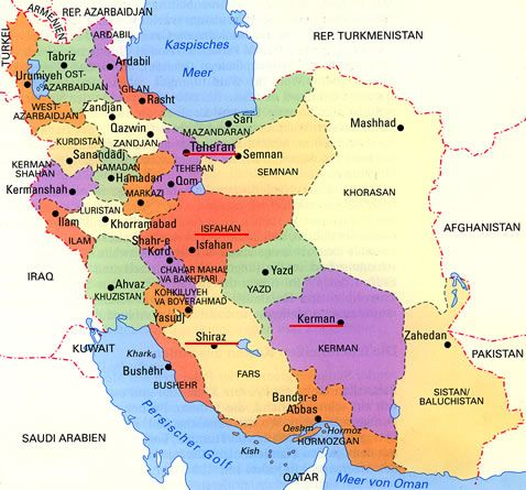 Map Of Iran With Cities Google Search Visit Iran Map Trip