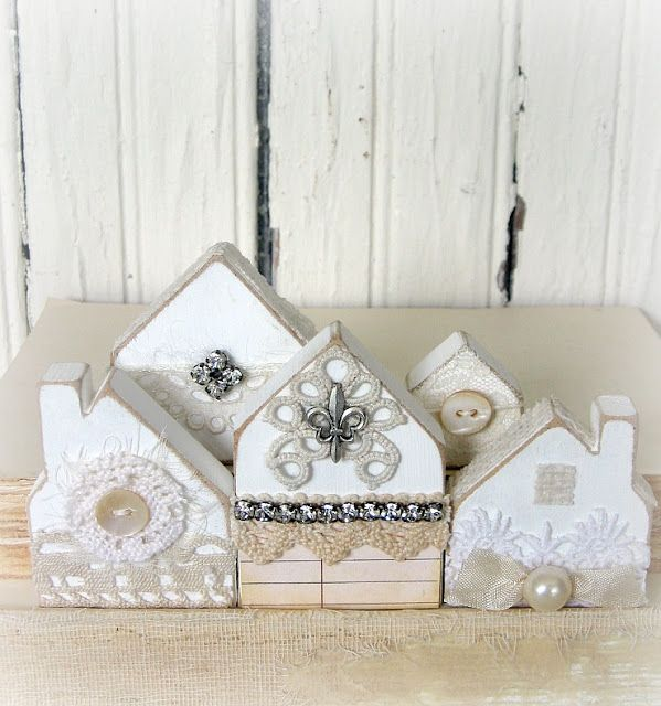 TIMEWASHED: Tiny White Cottages~~White Wednesday!!