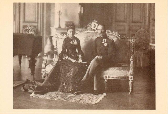 König Christian IX.& Königin Luise von Dänemark, King and Queen of Denmark   Flickr - Photo Sharing!