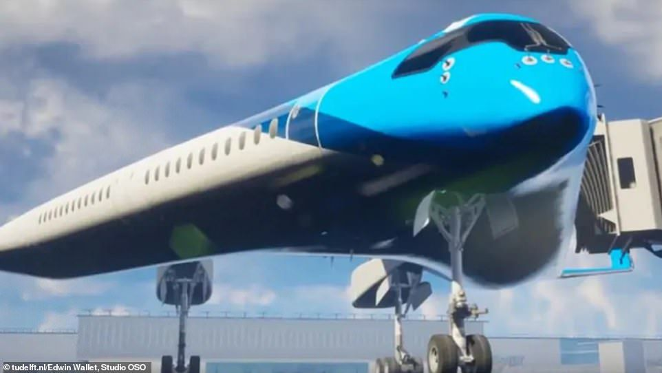 Flying V Plane Being Funded By Klm Could Revolutionise Air Travel Aircraft Aircraft Design Flying V