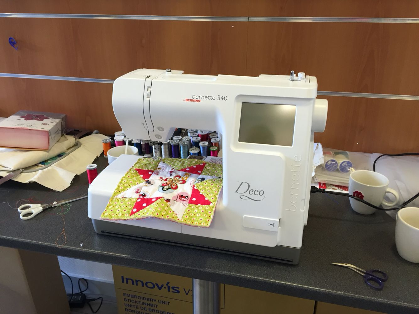 Bernina sewing and embroidery machine