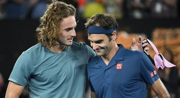 Roger Federer On Tsitsipas Quotes On Outside Courts Umpires Are Stricter Tennis World Roger Federer Sport Quotes Sports Shoes For Girls