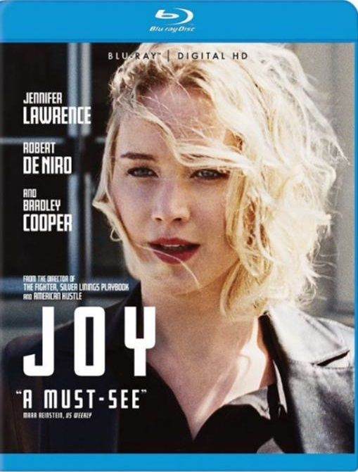 Joy (Drama) [Blu-ray]   Joy movie, Jennifer lawrence ...