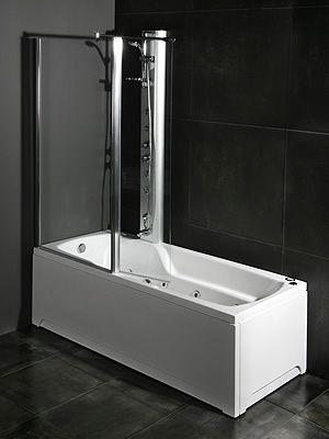 Wonderful Odin badekar med dusjvegg | Baderomsinspirasjon | Bathroom og Bathtub UV-97