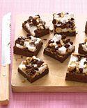 pumpkin-swirl brownies -- Martha