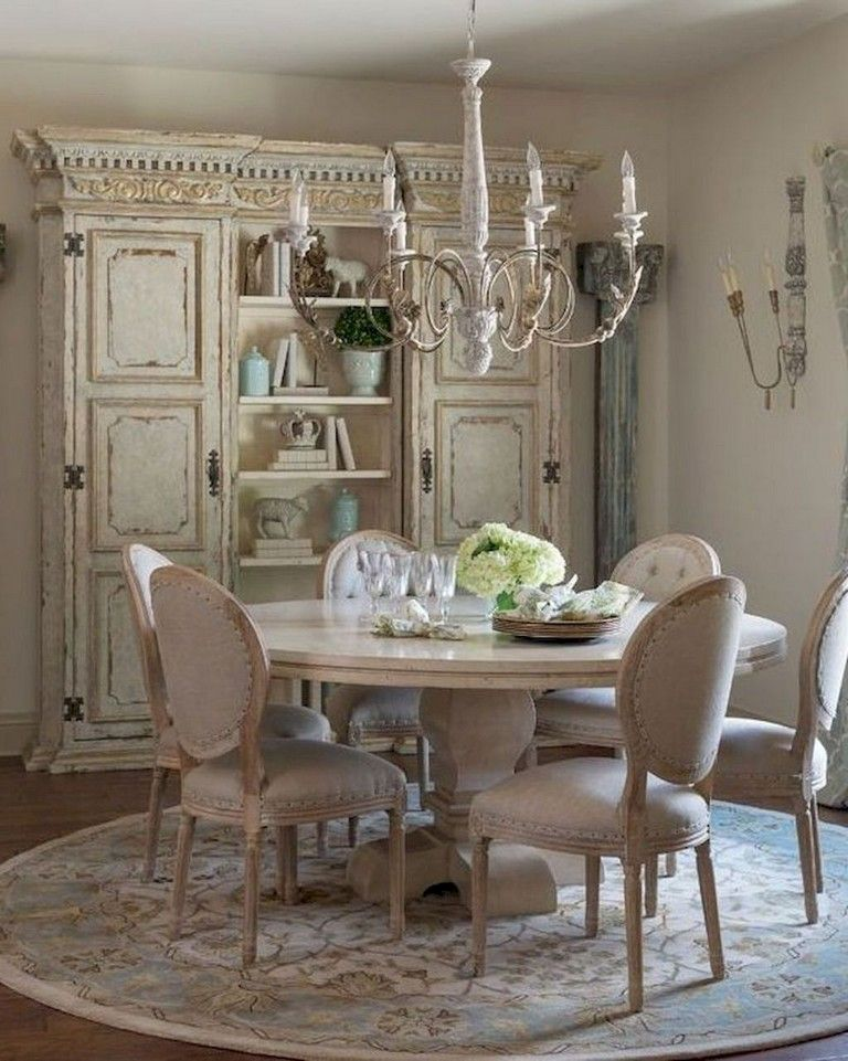 73 Awesome Vintage French Country Dining Room Design Ideas French Country Dining Room French Country Dining Room Furniture French Country Dining Room Decor