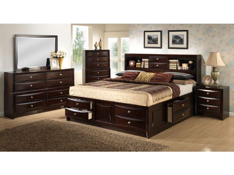 Monaco 4 Piece Queen Bedroom Set From Huffman Koos Furniture