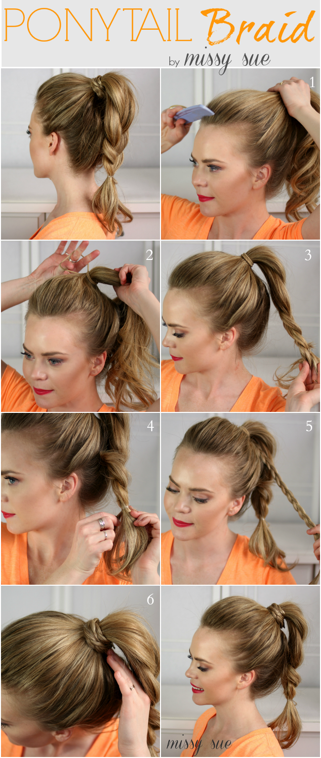 Easy for the busy stylish mom super easy ponytail hairstyles
