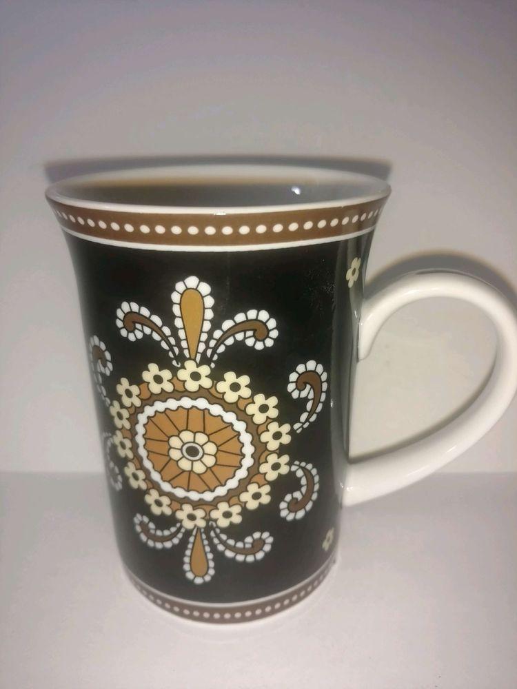 Vera Bradley Cafe Latte Andrea By Sadek Coffee Mug 10 Oz Microwave Dishwasher With Images Mugs Cafe Latte Coffee Mugs