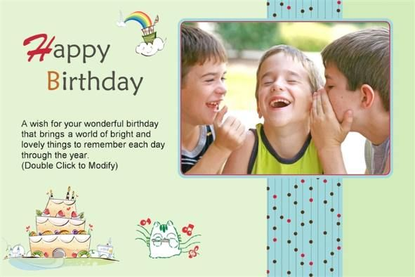Birthday Cards Templates ~ All templates photo templates happy birthday cards to friends