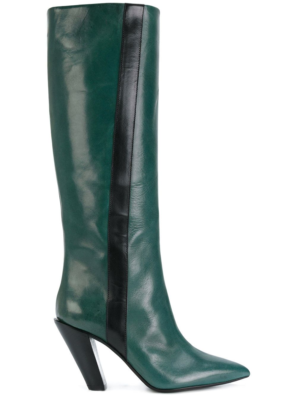 sale latest collections A.F.Vandevorst slanted heel knee-high boots clearance for sale shopping discounts online cheap visa payment B8w8N5eNL
