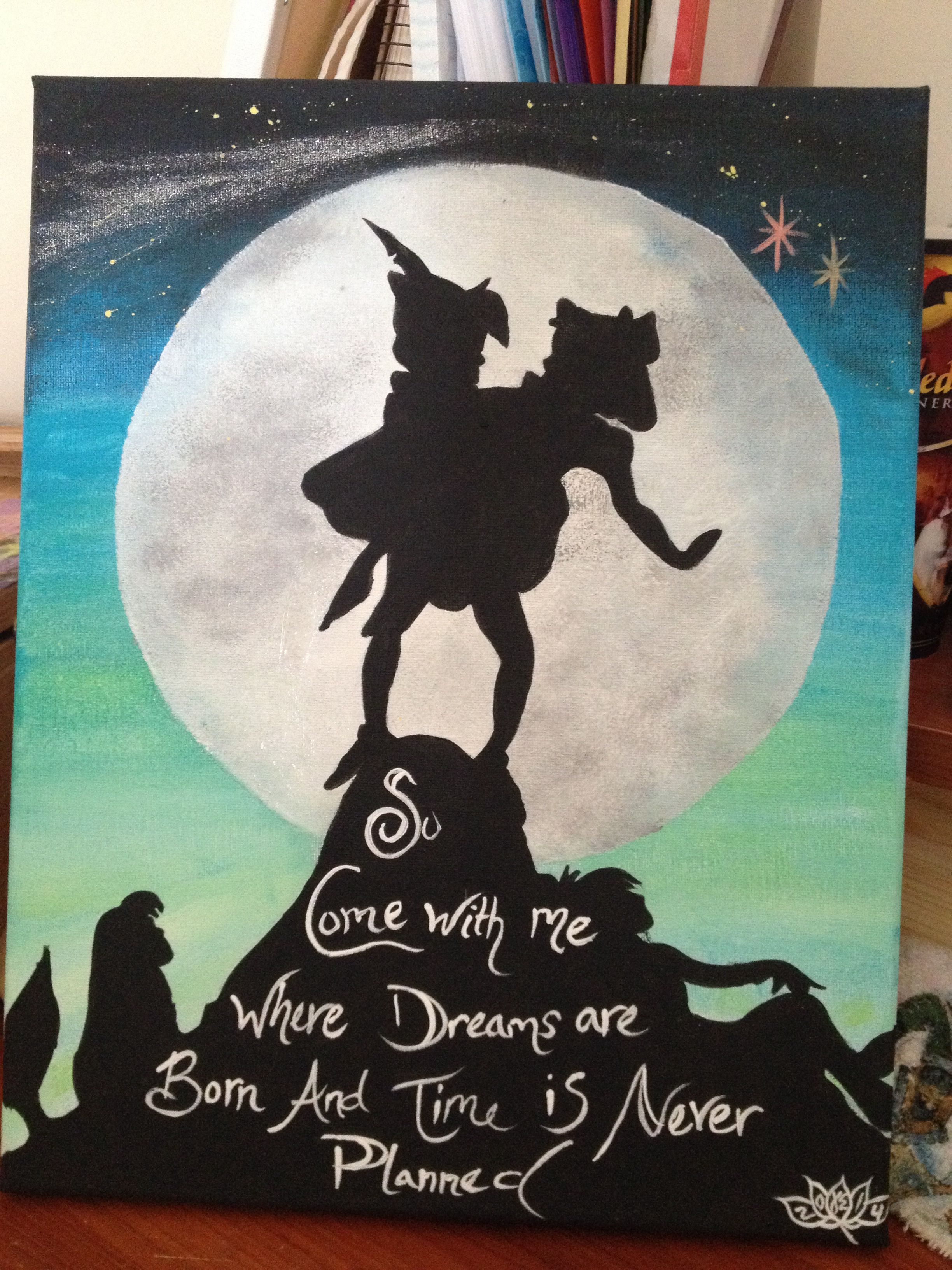 Peter Pan Painting Art