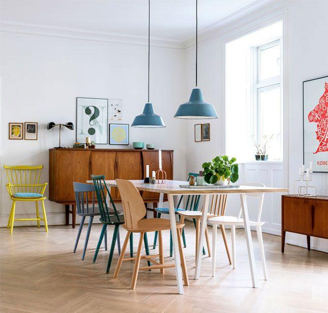 Nordisk med farver: Her er alt valgt med hjertet - Boligliv | boligindretning | Pinterest ...