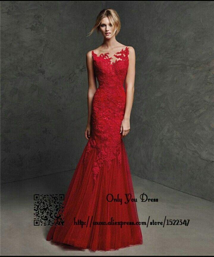 Accessoire robe de soiree rouge