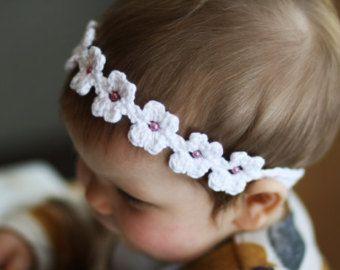 Stretchy headband with pretty flower crochet pattern flower stretchy headband with pretty flower crochet pattern mightylinksfo Choice Image