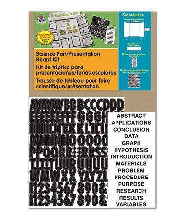 Pacon Science Fair\/Presentation Board \ Letters Kit Science - letter of presentation