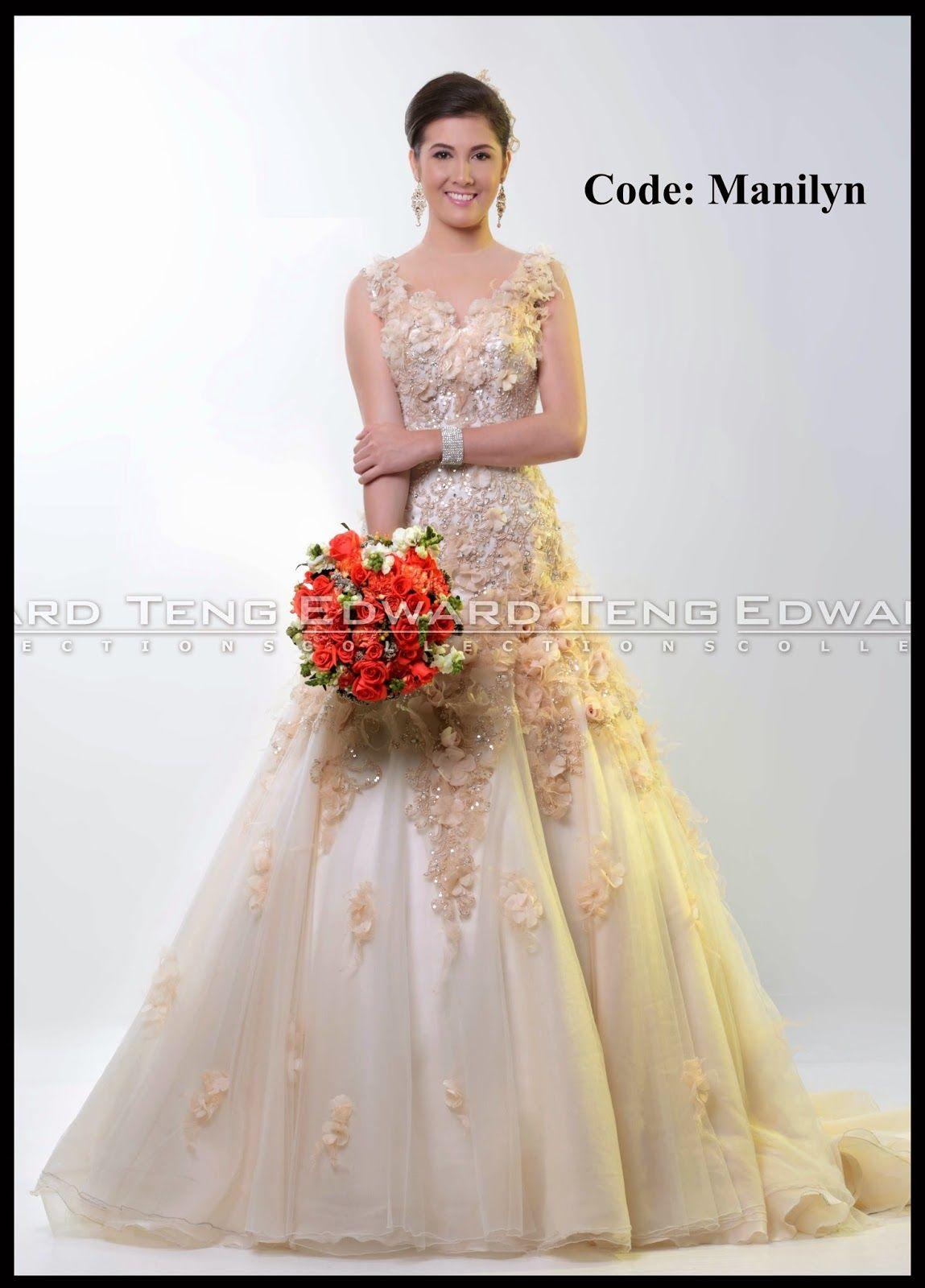 Edward Teng - Philippine Bridal Gowns | beautiful Bride | Pinterest ...