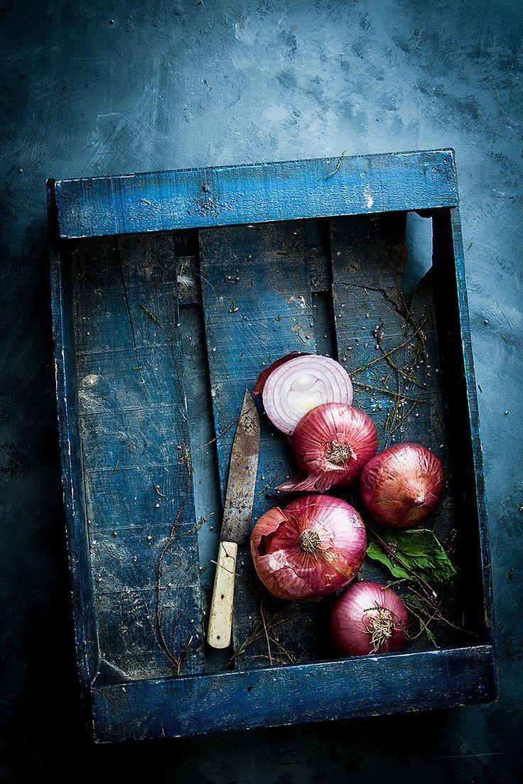 sopa de cebolla because blog Food art photography