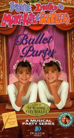 You Re Invited To Mary Kate Ashley S Ballet Party Vhs Vhs My