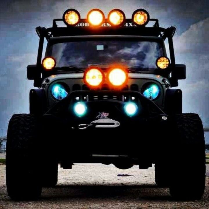 Top 10 Angry Eye Jeep Mods No 8 Sinister Looking Rig See More