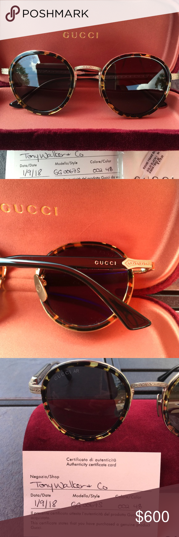 cecdecae56b Spotted while shopping on Poshmark  NWT AUTHENTIC GUCCI TORTOISE FRAME!   poshmark  fashion  shopping  style  Gucci  Accessories