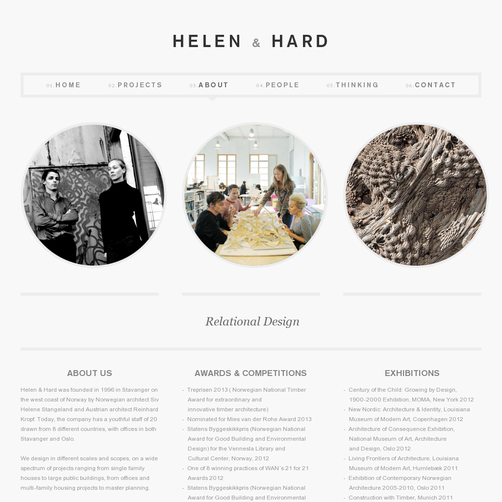 Http Www Hha No About Web Design Inspiration Web Development Design Web Design