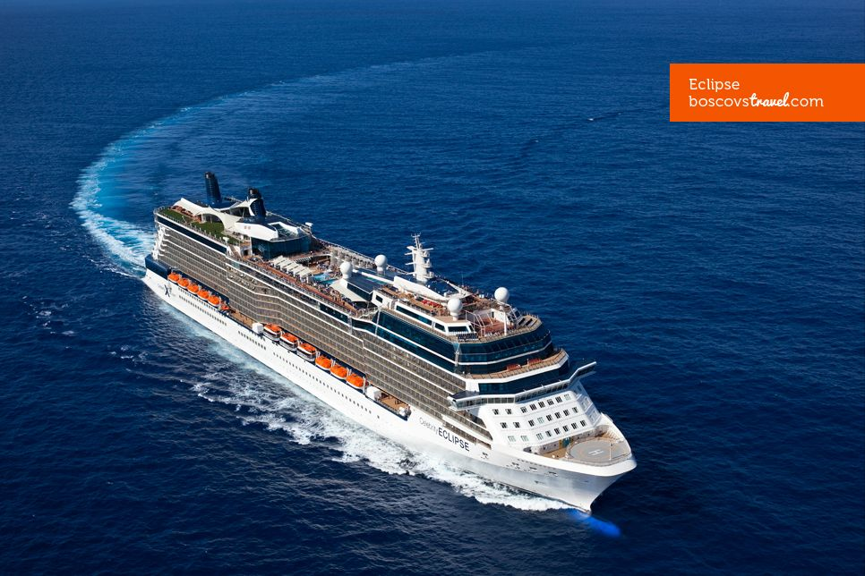 Celebrity Eclipse Aerial View Travel Cruise Eclipse Celebrity - Cruise to ireland from us