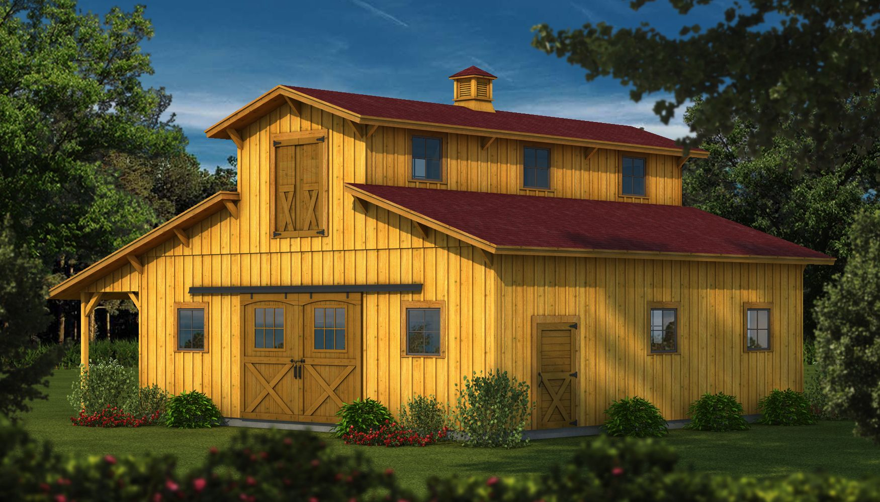 Quot The Dakota Wood Barn Kit Plans Amp Information Quot Is One