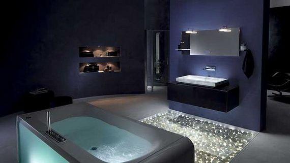 Modern Spa Like Bathroom Design Ideas