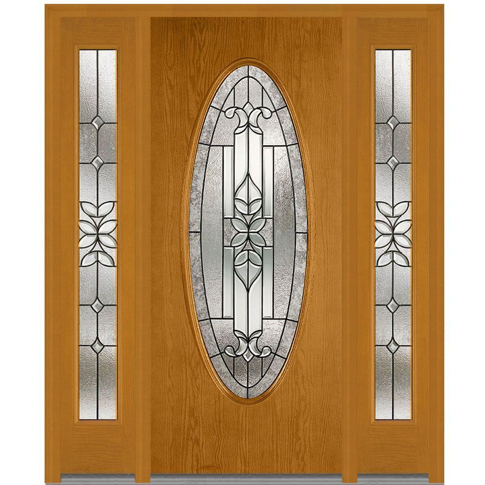 Milliken Millwork 68 5 in  x 81 75 in  Cadence Decorative Glass Full