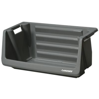 15 Husky Stackable Storage Bin 212327 At The Home Depot 17 D X 31 5
