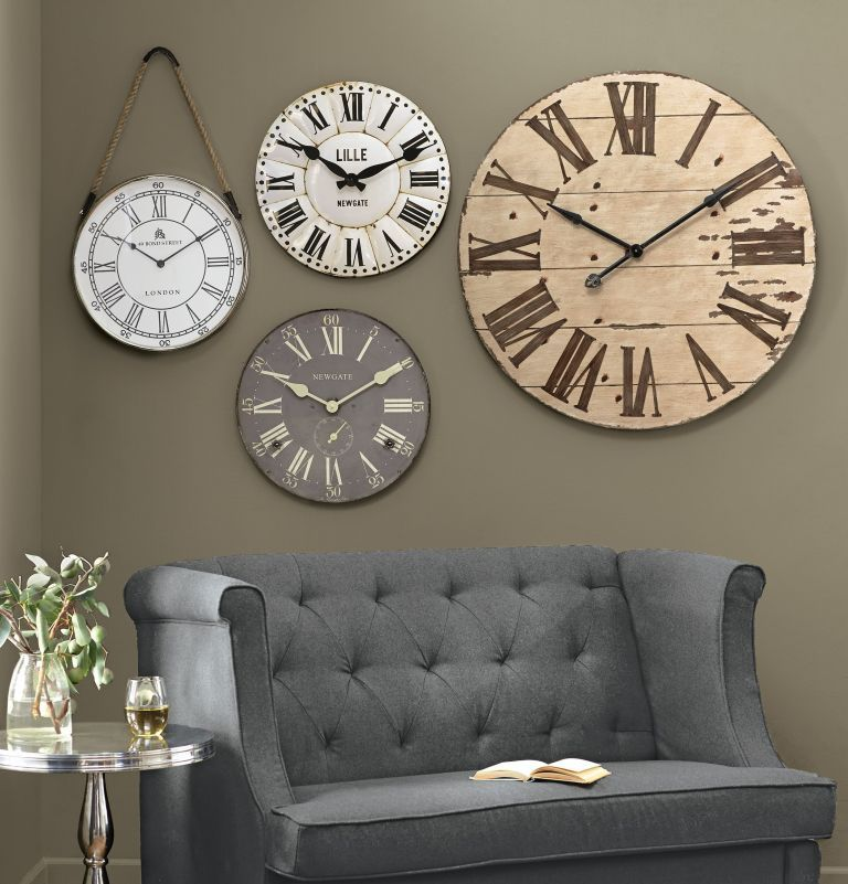 52 Unique Wall Clock Ideas For Your Living Room   Home ...